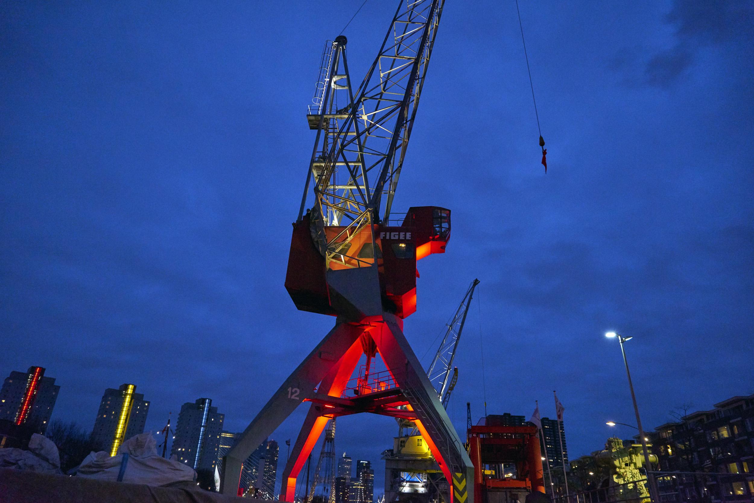Rotterdam Historic Crane # 2