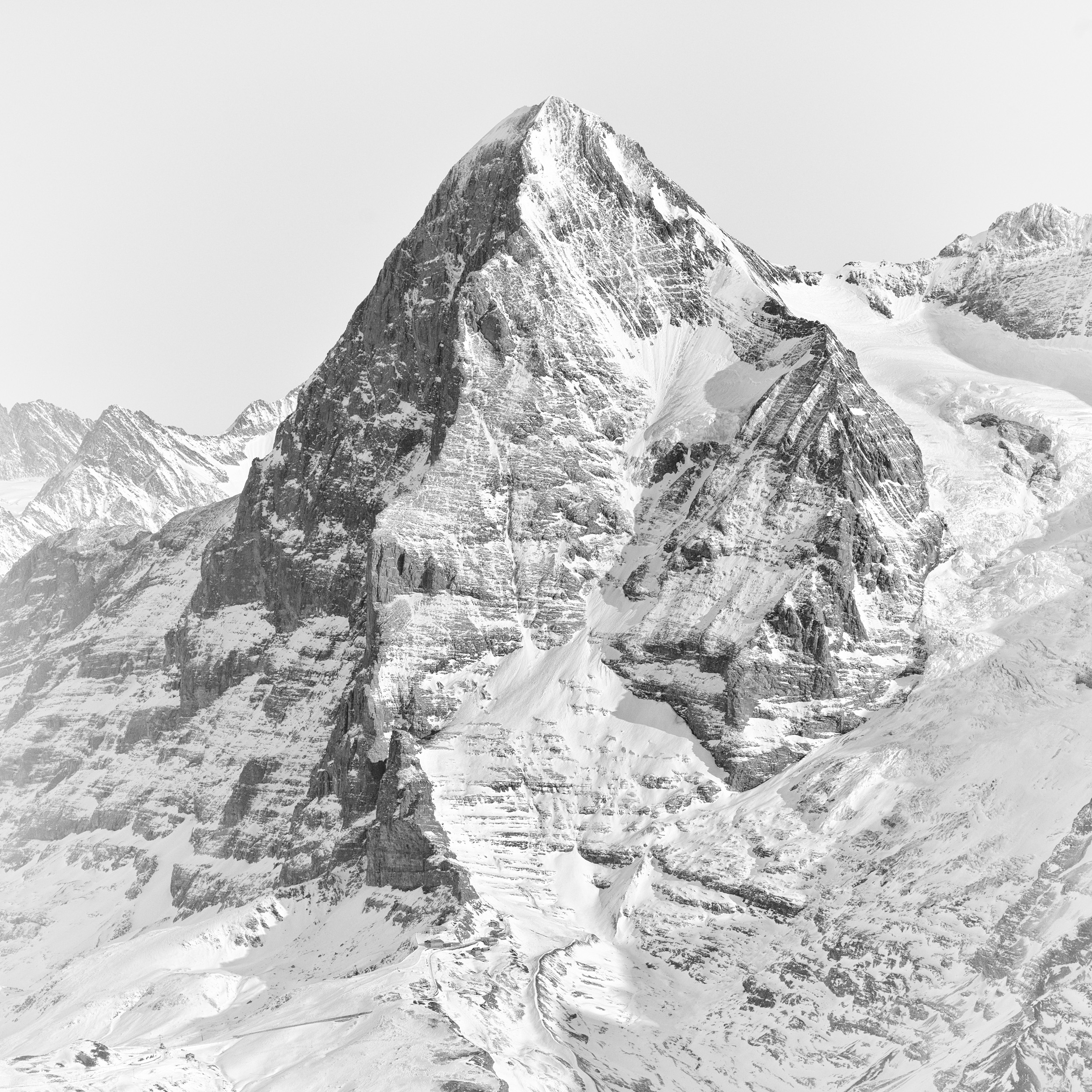 Swiss Alps # 13  Eiger North Face