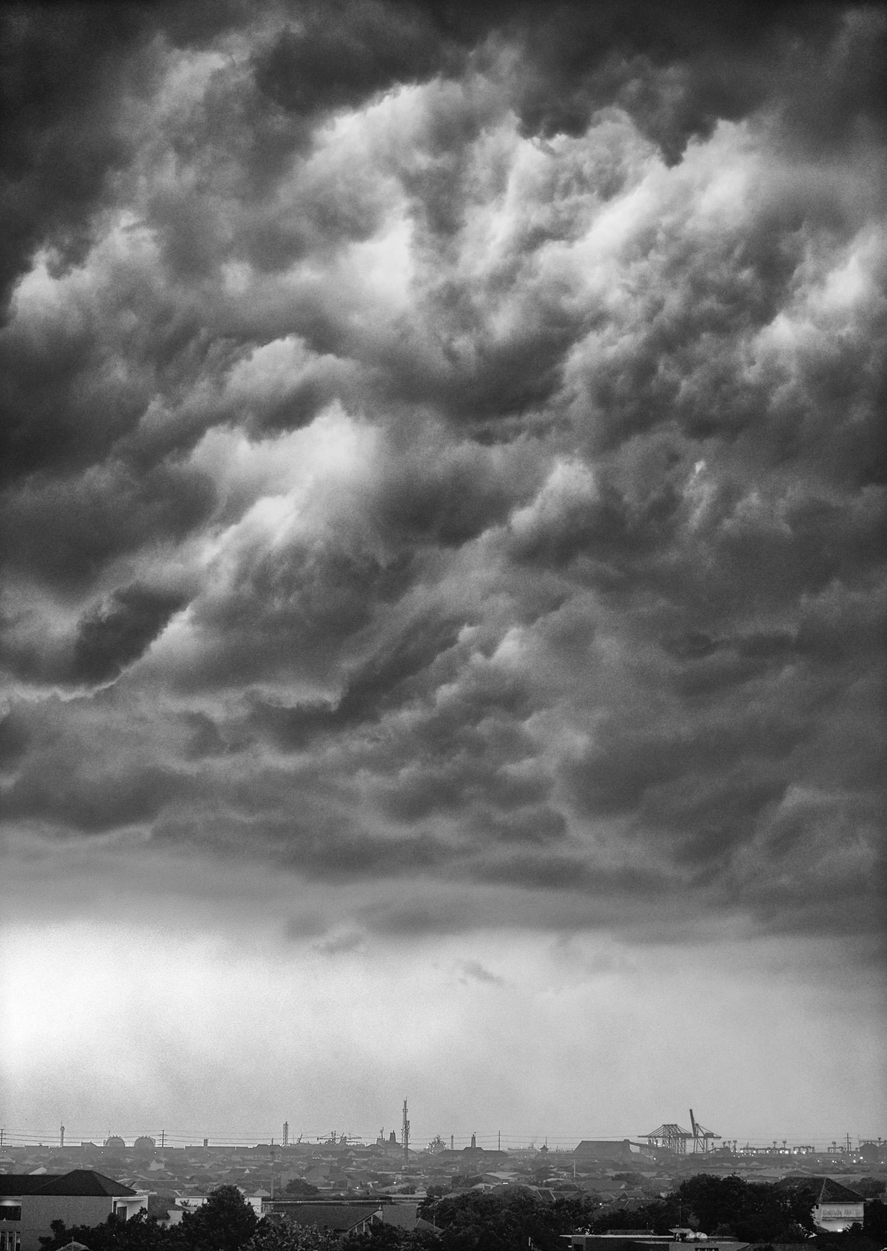 Storm, Semarang, Java, Indonesia