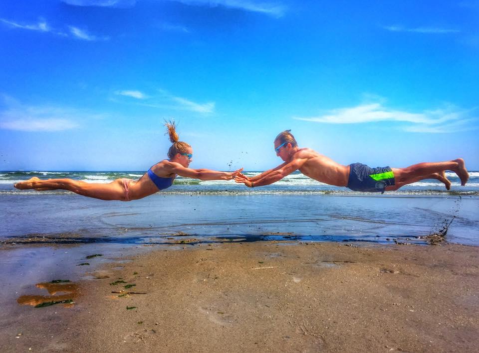 Mantas. Flying. SurfYogaBeer. Bachelor. DONE.