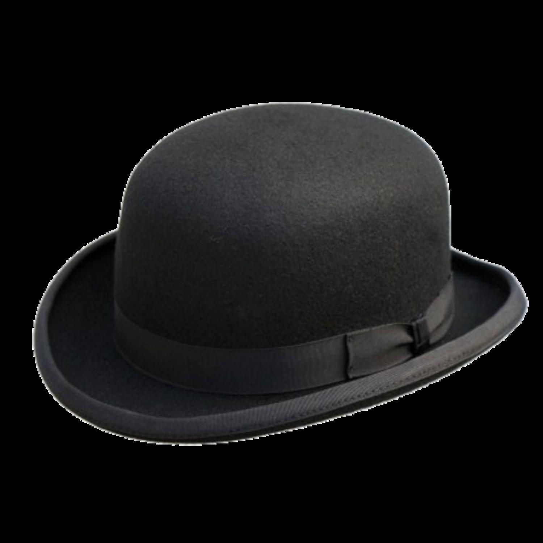 black bowler hat.png