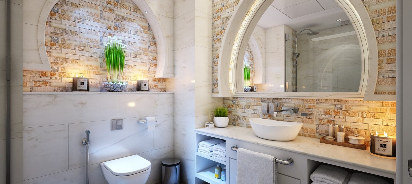 18 Alluring Ways To Organize A Bathroom Without Drawers And Cabinets_MakeSpace.jpeg