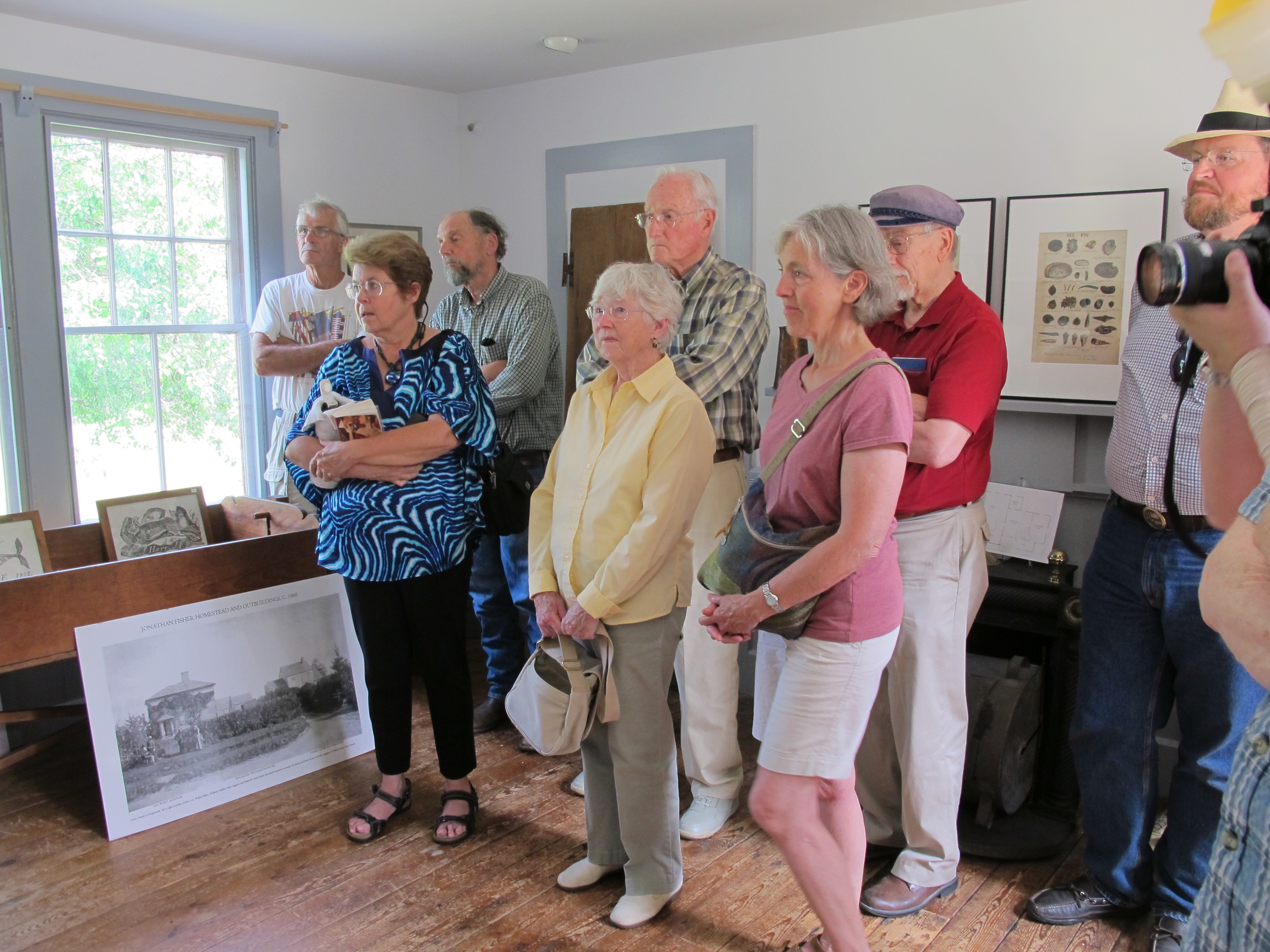 Tours of Jonathan Fisher's historic homestead in Blue Hill, Maine are a popular summer activity.