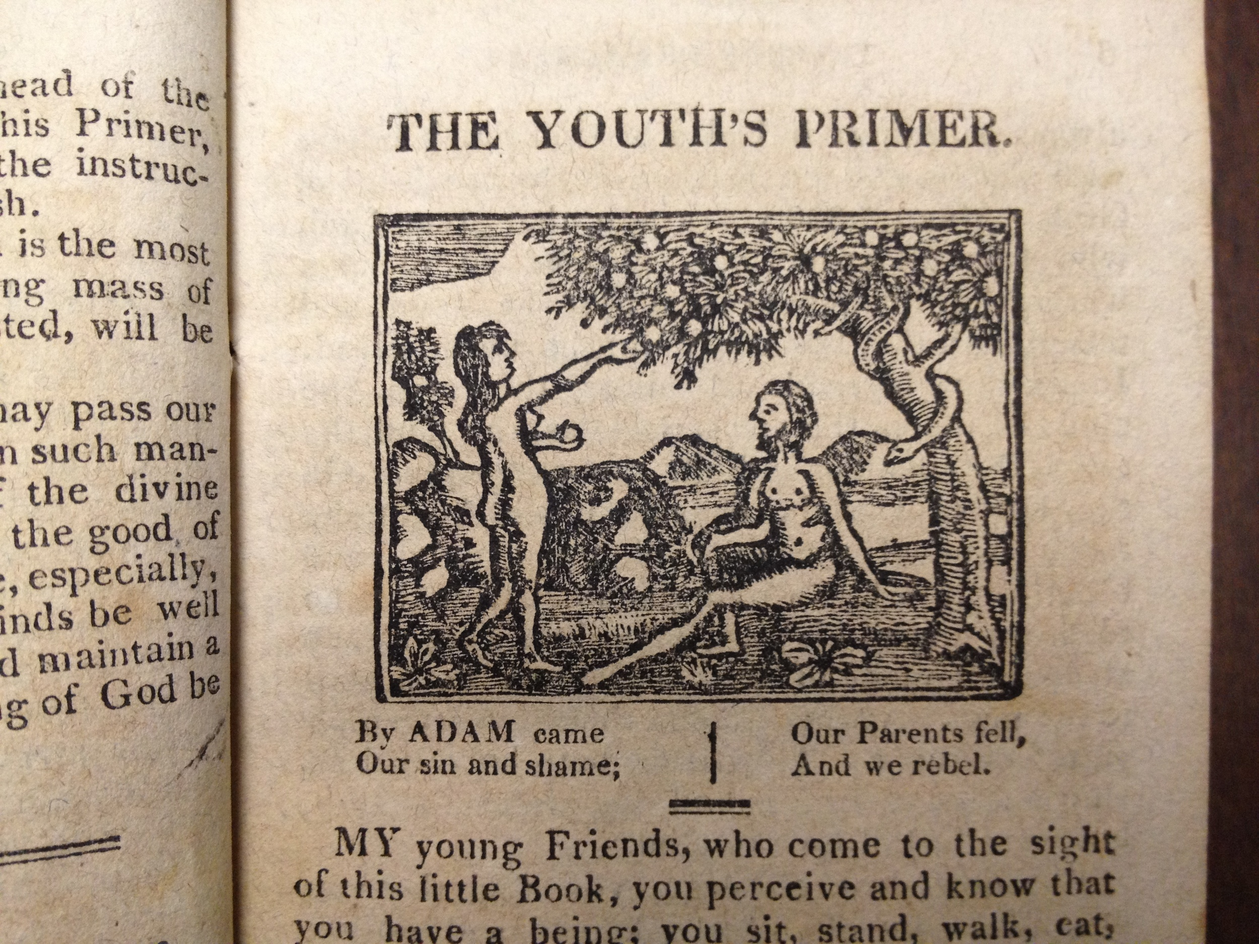 The Youth's Primer, published in 1817.