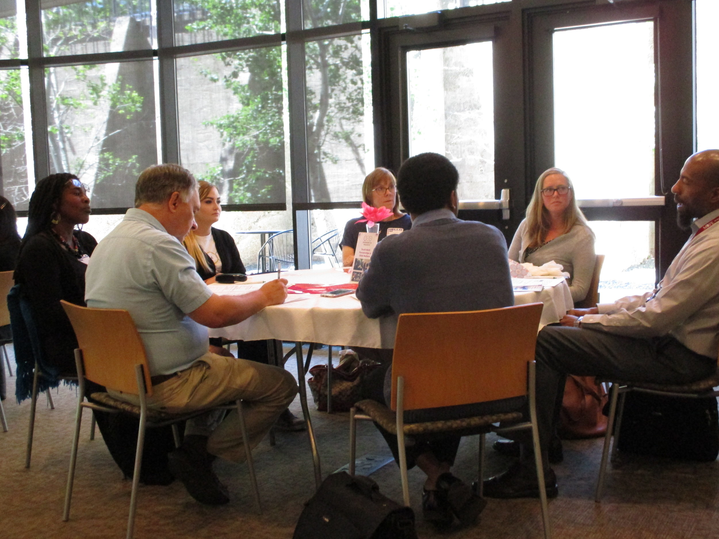 PARTNERSHIPS FOR PERMANENCE - LISTENING SESSIONS WITH CHILD WELFARE PROFESSIONALS