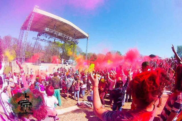 The festival of colors #holi #throwback #americandesi #fun #life #masti