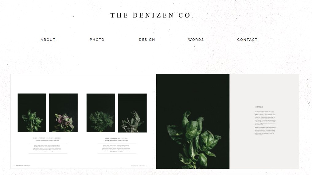 THE DENIZEN CO. - Launched in 2013 by Haruka Sakaguchi, The Denizen Co.'s primary mission is to work with entrepreneurs and small businesses to develop and realize their brand identity. I am currently based in Brooklyn, New York and specialize in creating elegant designs for both web and print. I am currently available for freelance projects, consulting and collaborations. I work with clients across the US and around the world.Website: thedenizenco.comInquiries: hello@thedenizenco.com