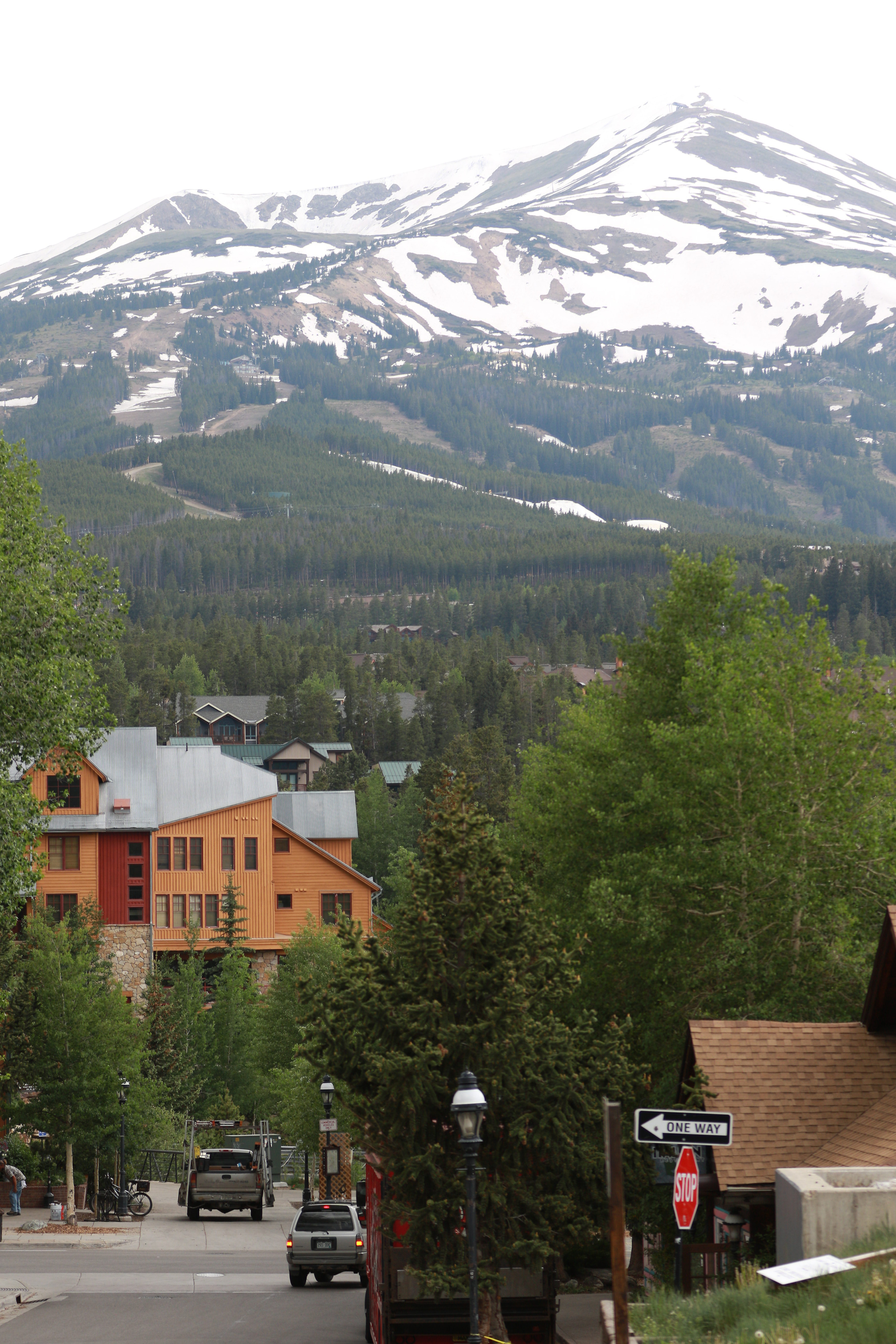 Vacationing in Breckenridge, CO on June 20, 2016.