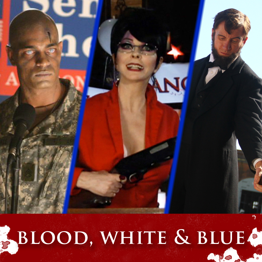 """""""Blood, White & Blue"""" Marketing Campaign"""