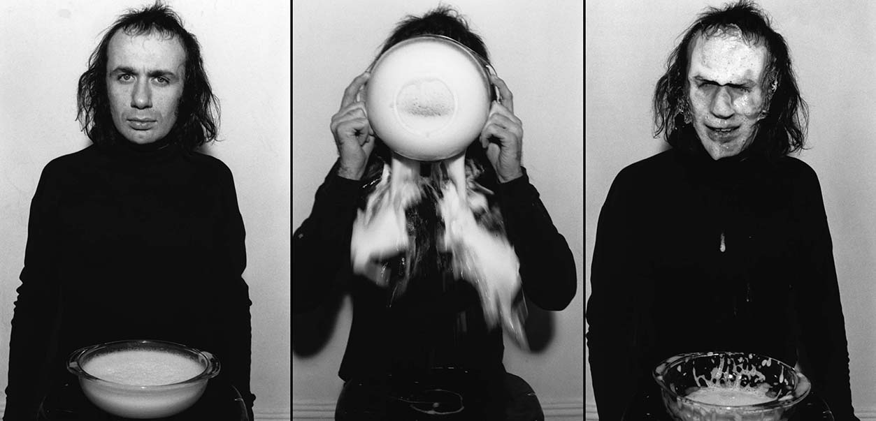 "Vito Acconci's ""Soap & Eyes,"" 1970"