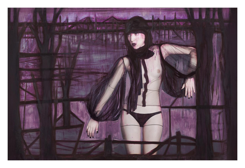 Andrea Carrazco — Collaborative art by Gabriel Macotela — Ramón Gellida
