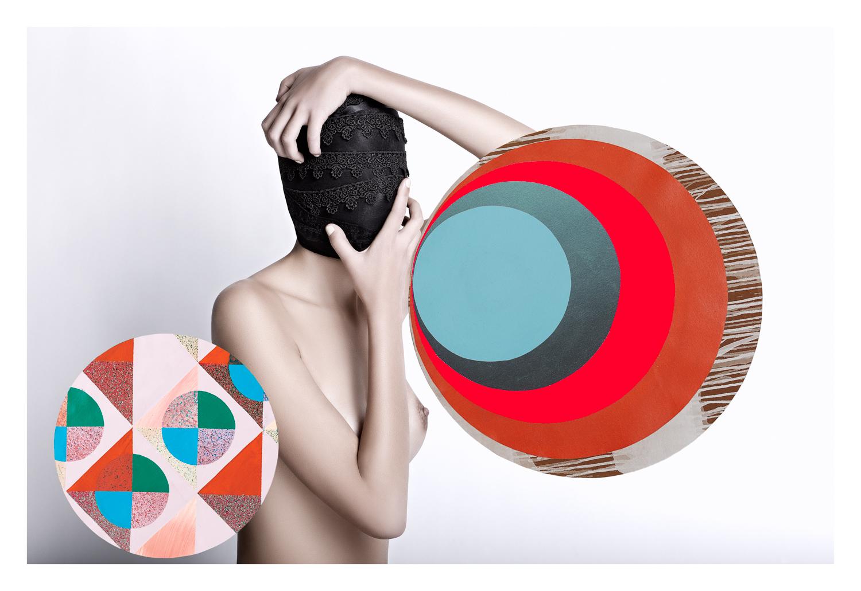 Lucía Águila — Collaborative art by Héctor Falcón — Ramón Gellida