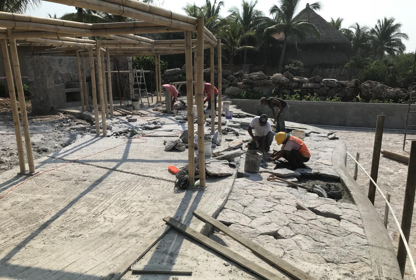Fabricación de Playa de Alberca