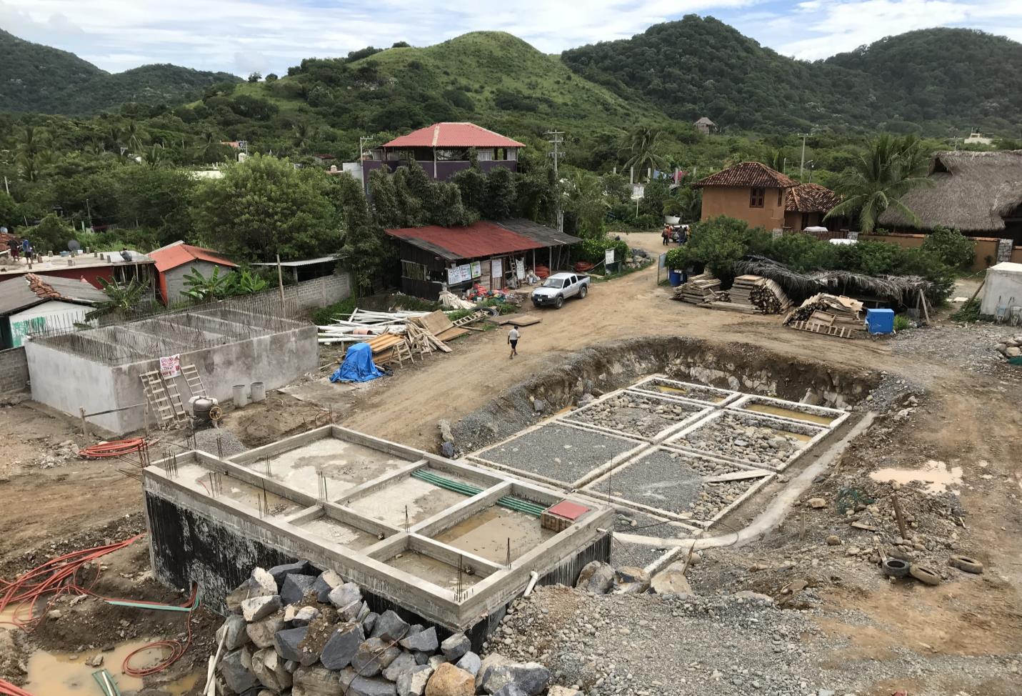 Cistern & Treatment Plant