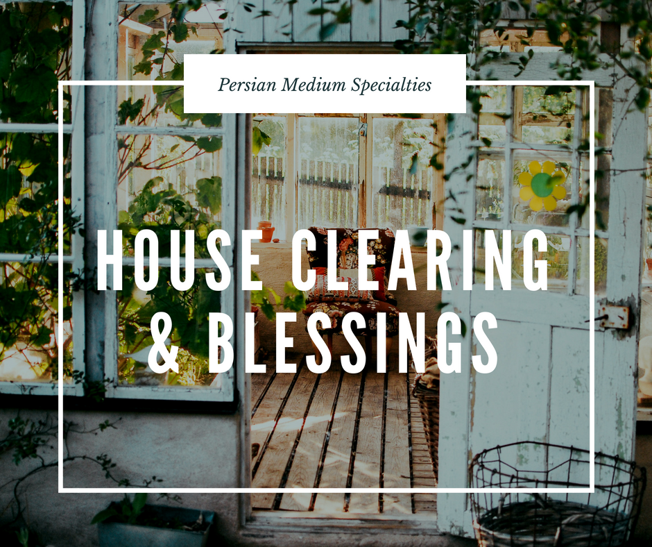 House Clearing & Blessings - During this service, I come to your house or business to clear out all negative and toxic energies, lower vibrational energies and stuck energies that are not allowing peace. You will need clearing if there is constant disharmony, fighting, objects breaking or stuck energy not allowing you to move forward and not complete tasks.I will say prayers while doing the work and when I am done say a prayer to bless the space.The end result will be peace, harmony and flow of clear energy in your home.