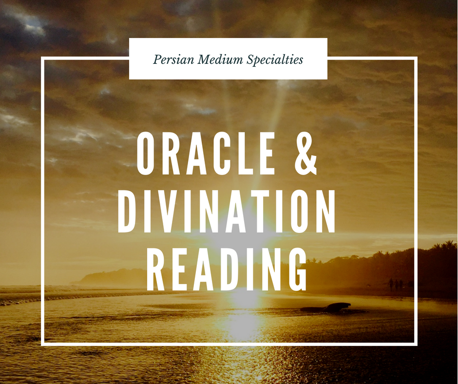 Oracle & Divination Reading - Oracle cards will be used in this session along with divination tools such as a pendulum for answers.Tools will give answers to questions and determine past, present and future.Oracle cards will bring through messages and further guidance.Using a pendulum will allow the Divine to come through for yes and no questions.