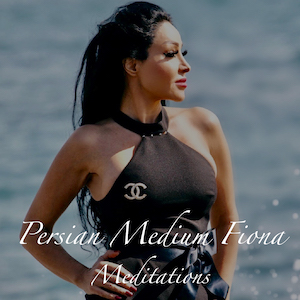 "Guided Meditations - Persian Medium Fiona is now offering a series of Guided Meditations that include:""Getting Through Stress""""Love and Romance""""Money""""Positive Angels""""Release the Day""Purchase individually or buy as a set and save!"