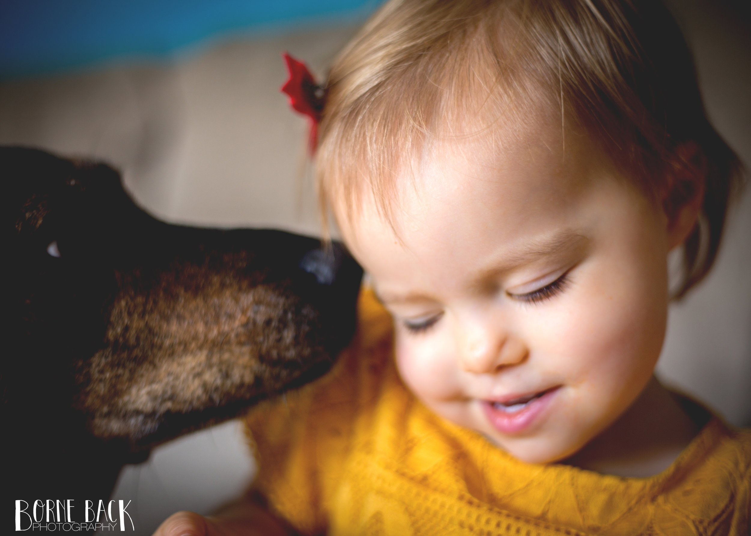This started off as a portrait shot of Baby F after church but when our dog (who has NO concept of personal space) photobombed, I ended up in love with the resulting image.