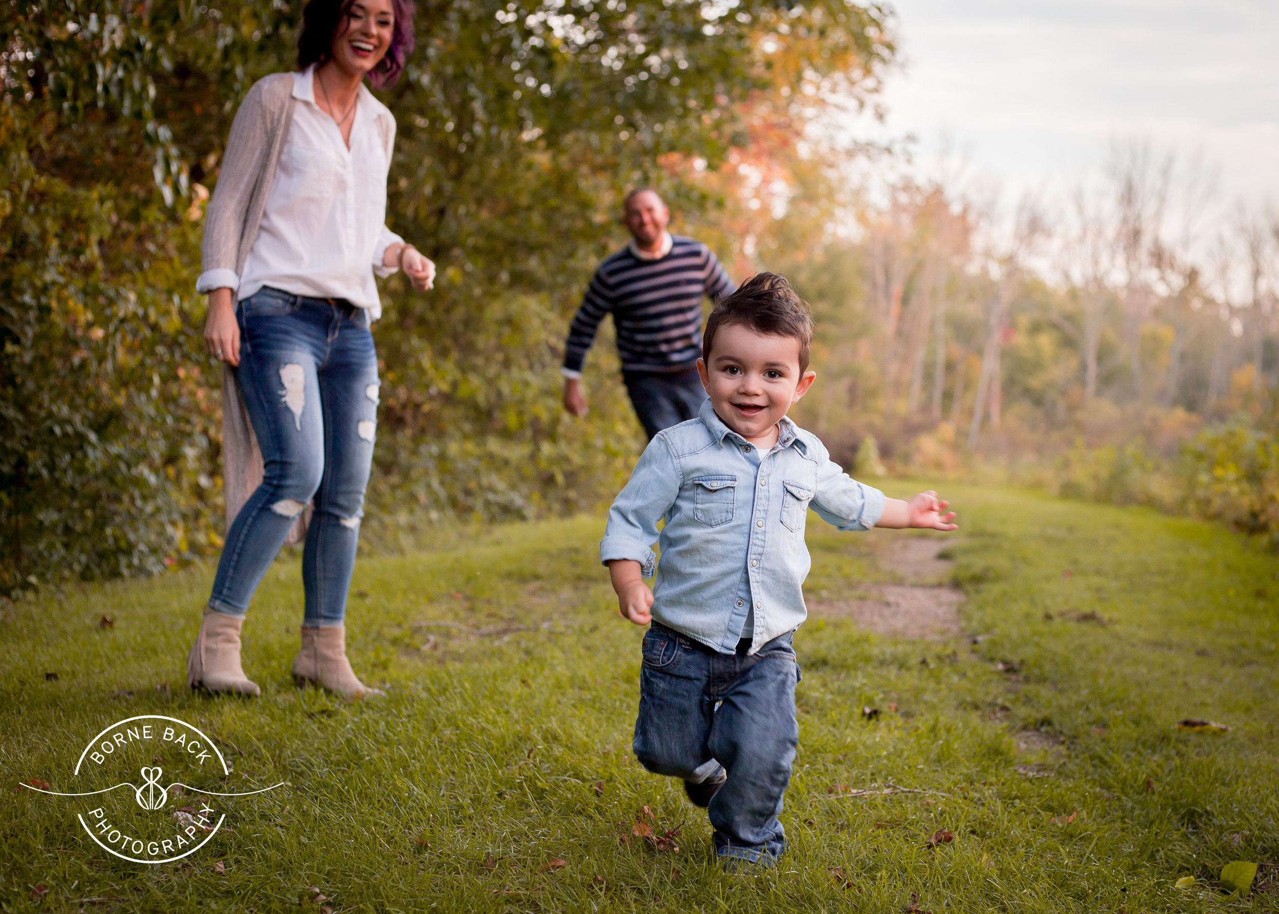 I love this fall favorite! This little guy was a mover so having a photo like this allows you to capture him exactly as he was (a rambunctious two year old) in a beautiful way.