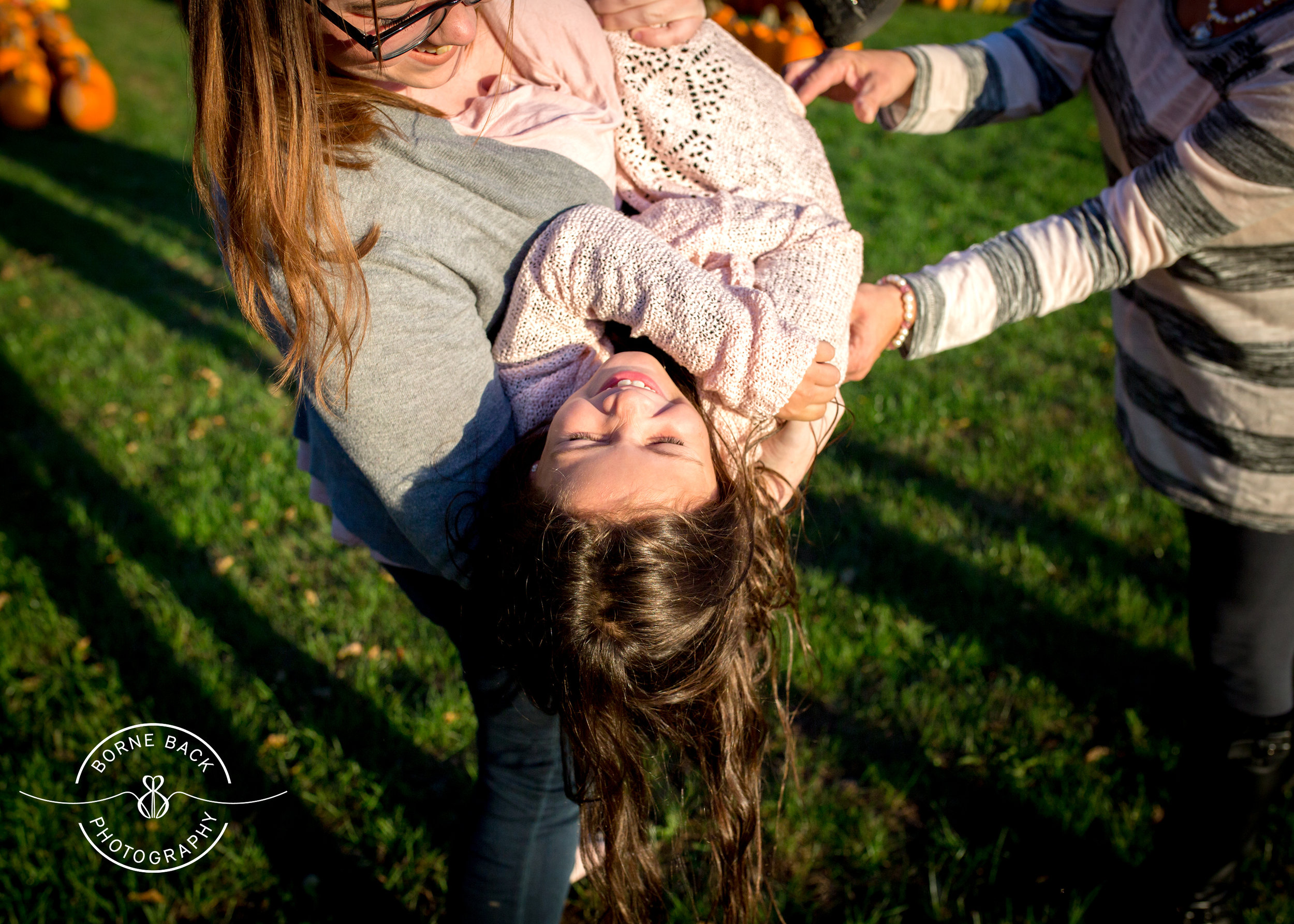 This little girl had so much joy in her heart that all of her older siblings were drawn to her.