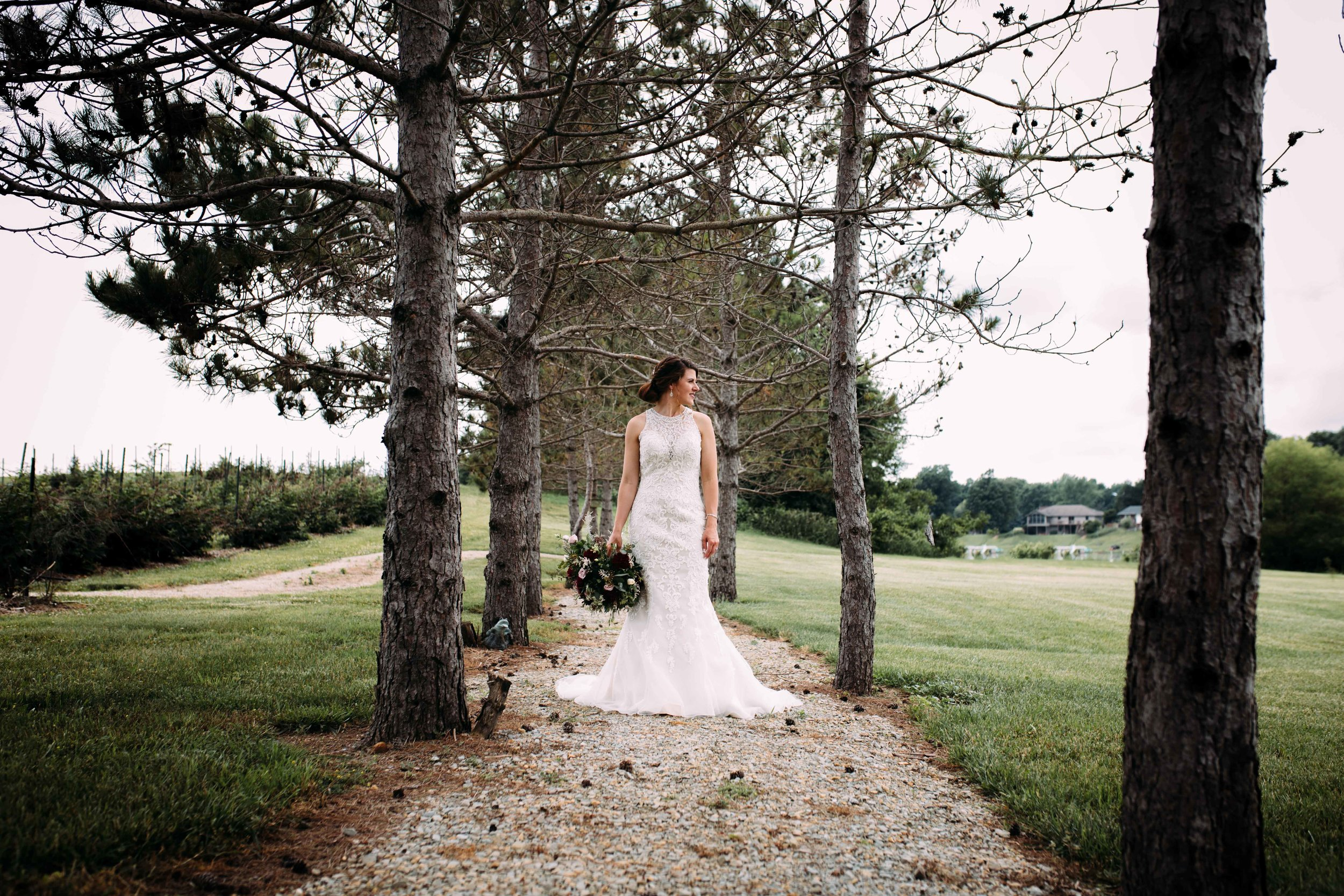 gorgeous bride photo