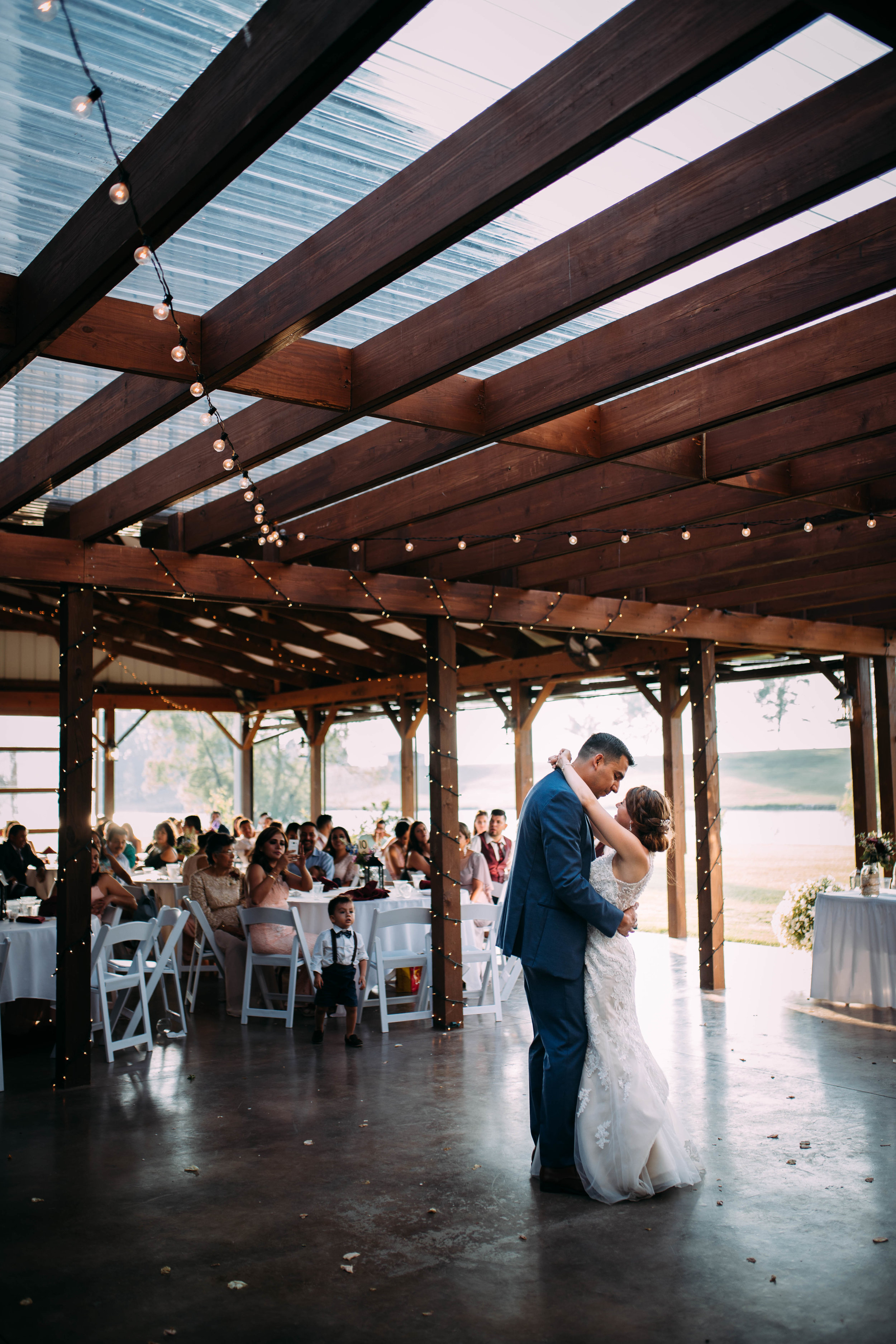 first dance at indiana wedding