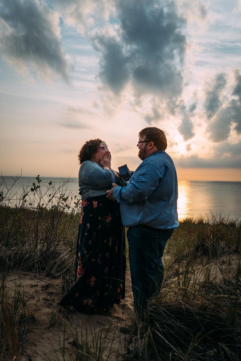 Michigan wedding and engagement photographer