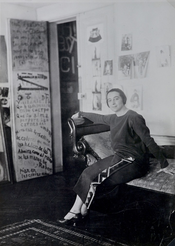 We will go right up to the sun' - An important figure in the Parisian avant-garde, Sonia Delaunay (1885–1979) brought extraordinary inventiveness to a range of works, which celebrated the modern age in all its guises. Over a 60-year period she created groundbreaking paintings, textiles and clothes, as well as collaborating with poets, choreographers and manufacturers.