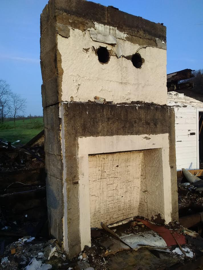 real sandstone fireplace for sale in kidron ohio
