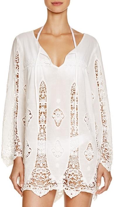 Nanette Lepore Lace Paneled Tunic