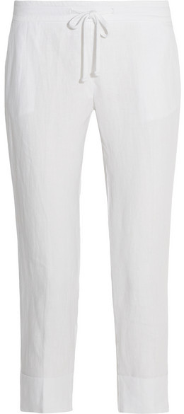 JAMES PERSE - LINEN TAPERED PANTS