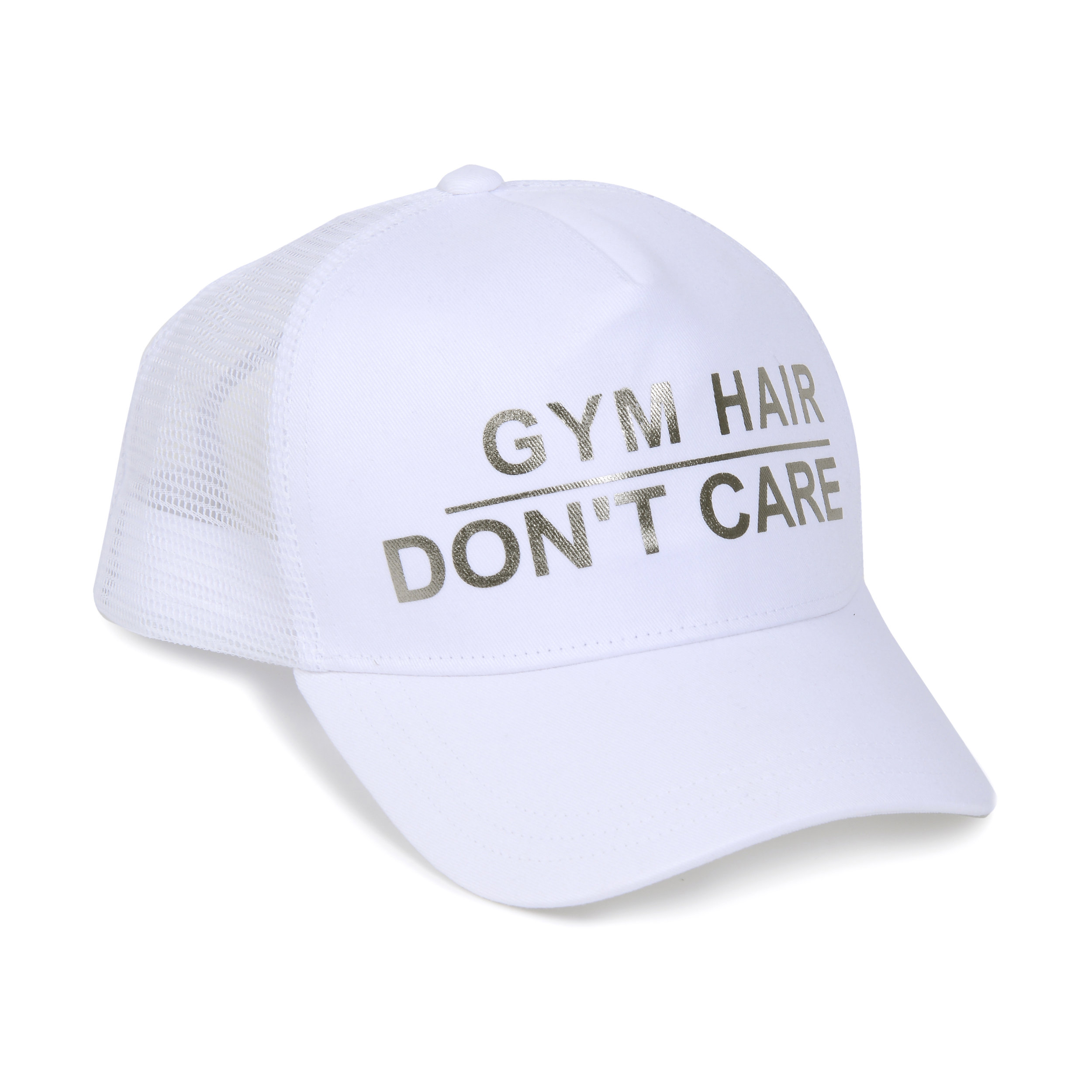 Trucker Hat - Gym Hair Don't Care.jpg