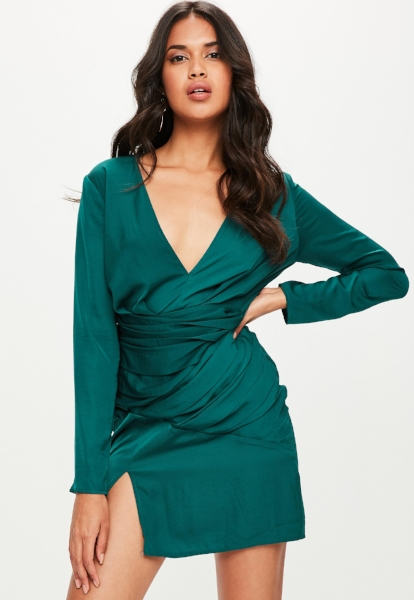 green-silky-long-sleeve-panelled-dress.jpg