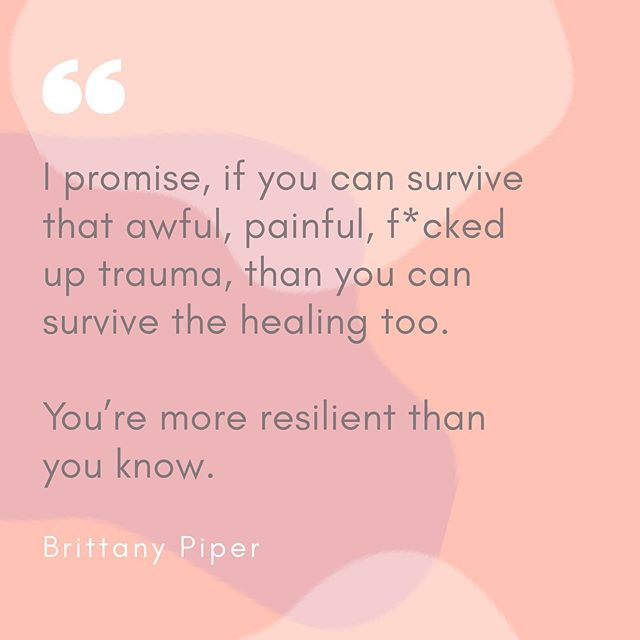 If you can survive, you can thrive. You're stronger than you know ✨💛