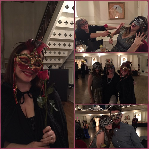 Who could these people be? I don't recognize anyone with those masks on!