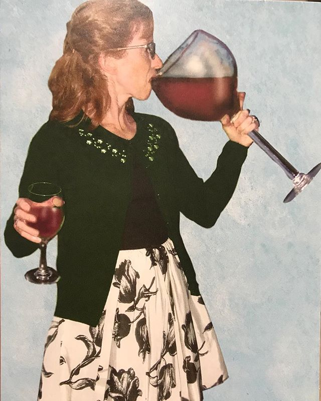 Go big or go home…  Actually, just go BIG! #mondaymotivation #wine