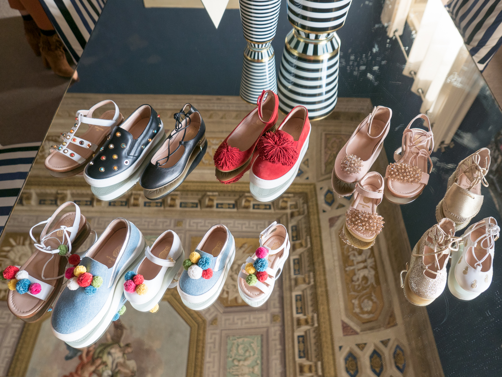 Aquazzura collection for girls, launching in January 2017