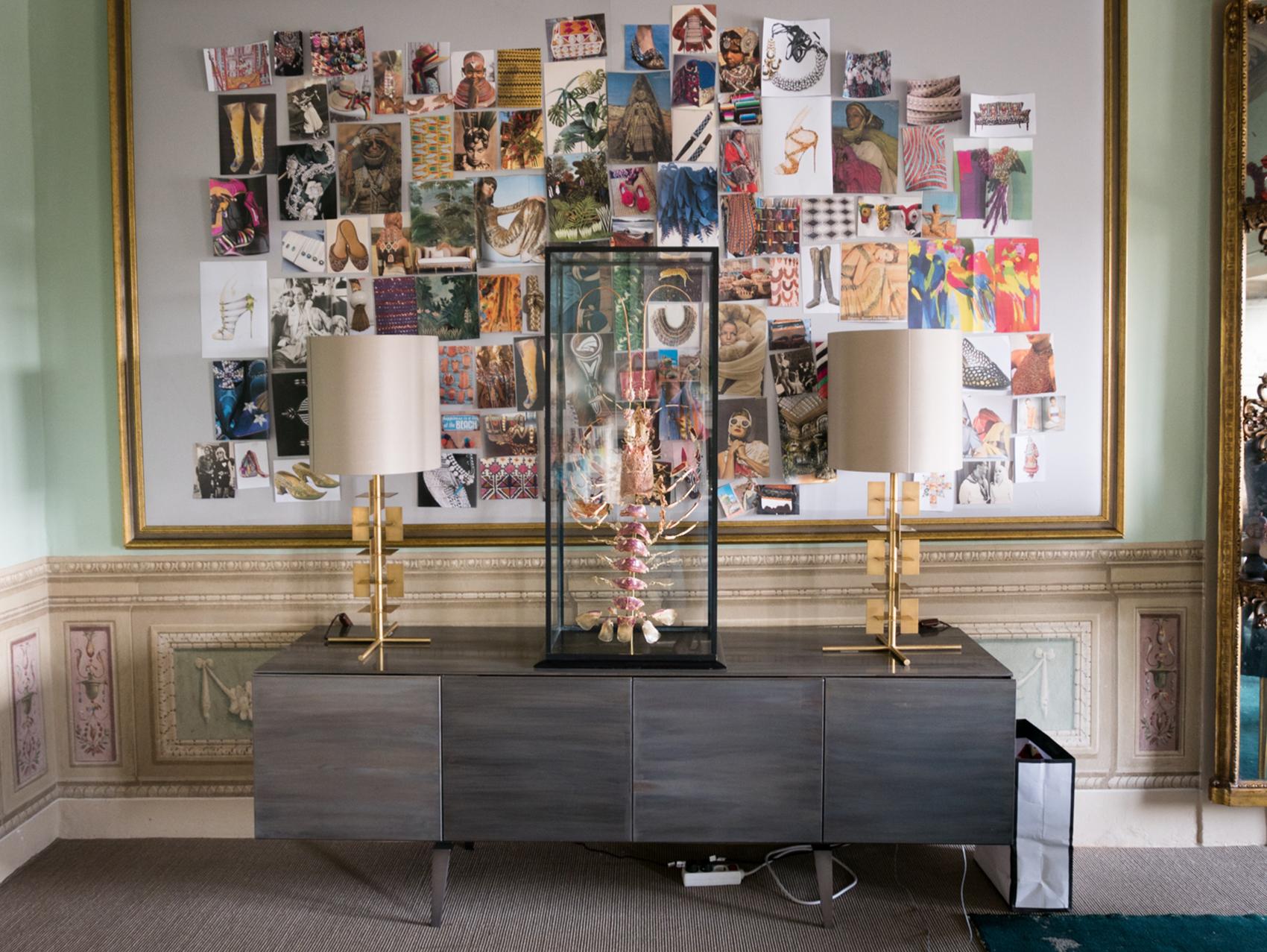 Edgardo's office decor