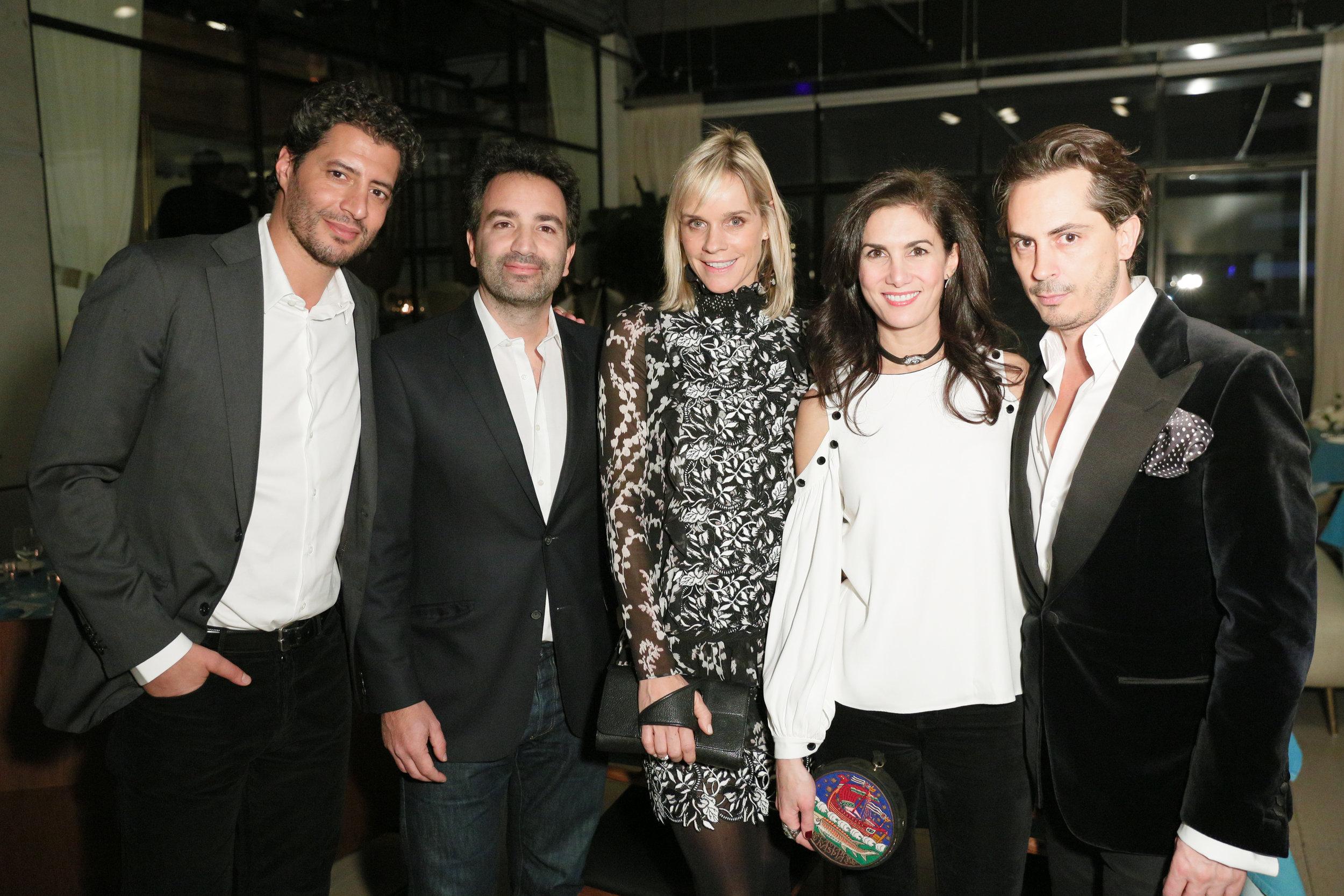 From left to right: Imad Izemrane, Francesco Costa, Anoushka Mac Crohon, Elisabeth Jones-Hennessy, Kilian Hennessy.