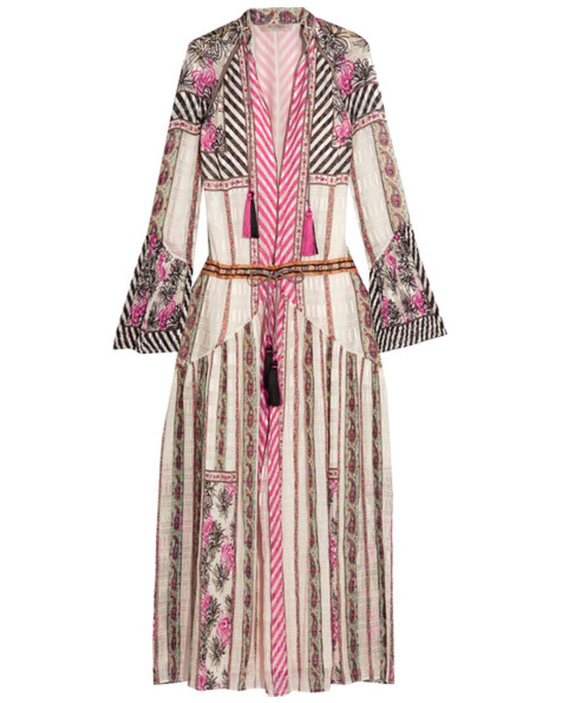 ETRO  Silk-jacquard Maxi Dress