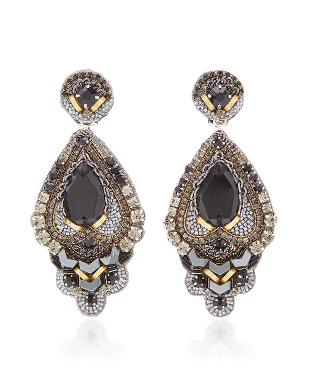 RANJANA KHAN  Bead Drop Earrings