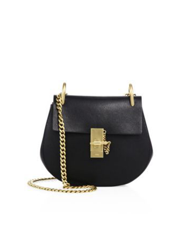 CHLOE  Leather Saddle Crossbody