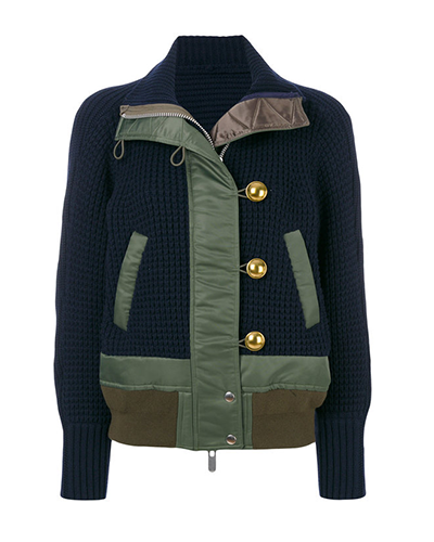 SACAI  Knitted Jacket