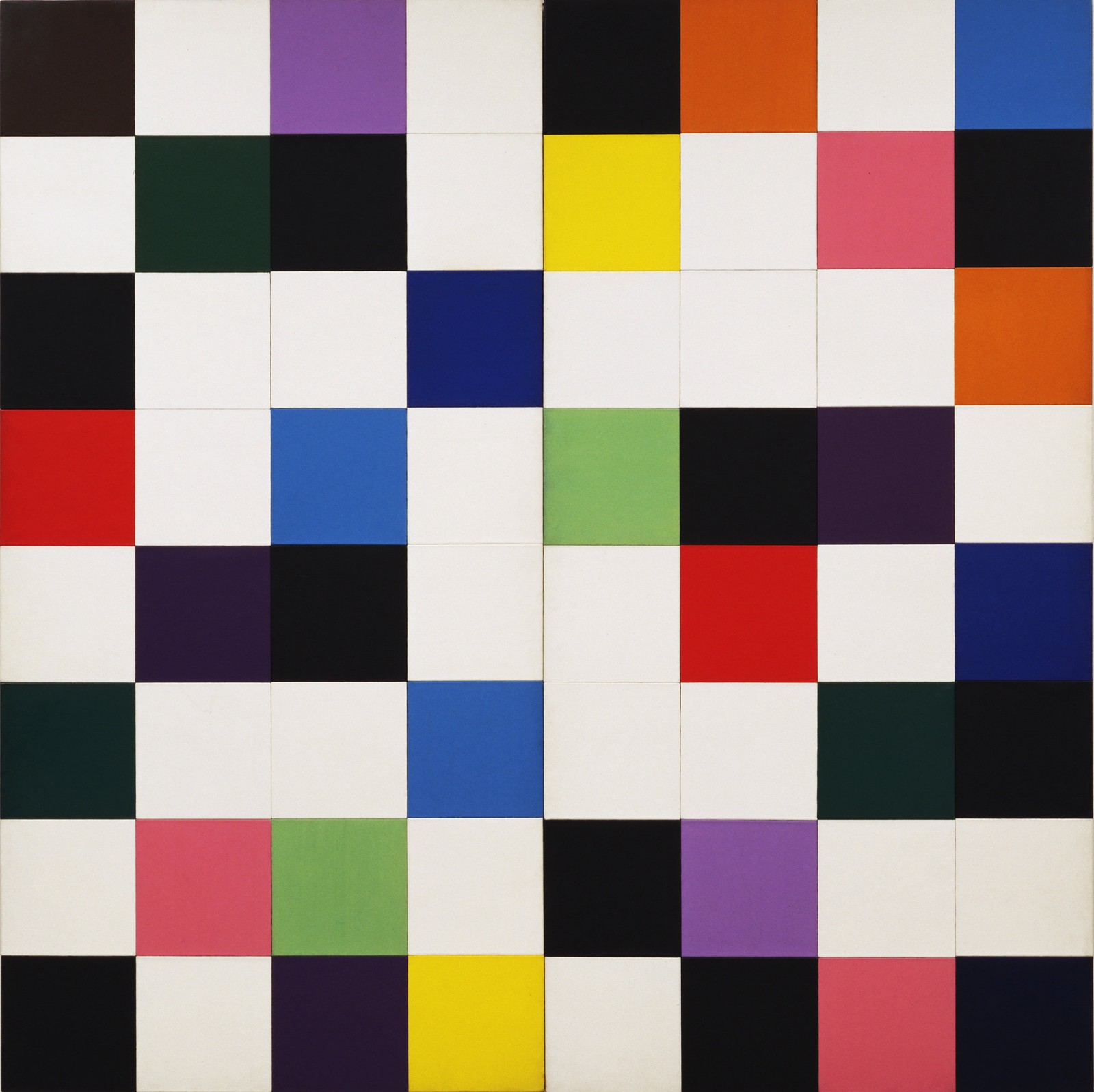 Ellsworth Kelly  Colors for a Large Wall, 1951