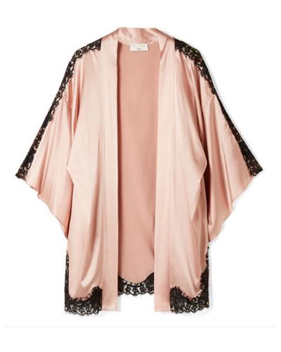 FLEUR DU MAL x KILIAN  Lace Kimono Cardigan