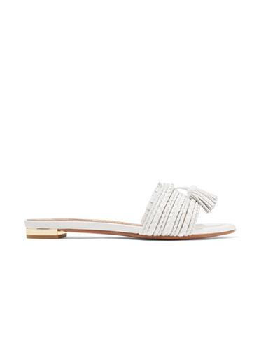 AQUAZZURA  Sauvage Leather Sandals