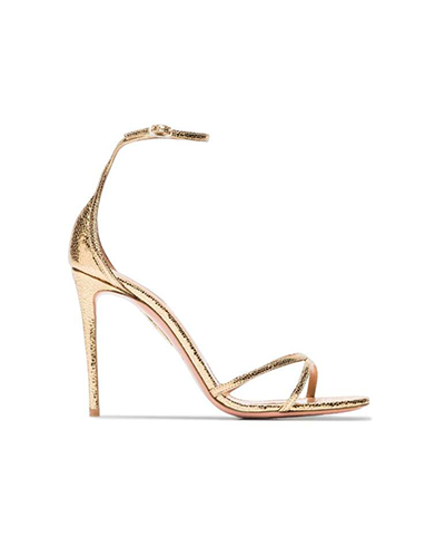 AQUAZURRA  Purist Metallic Sandal
