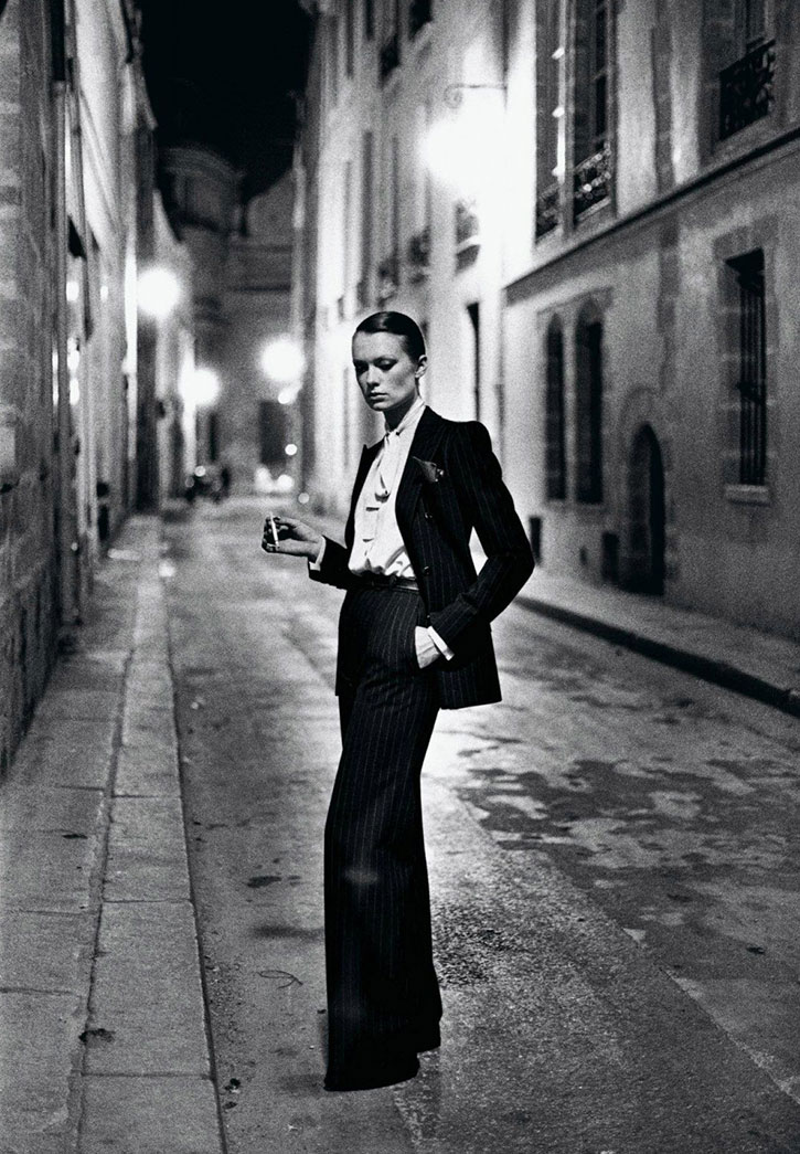 Helmut Newton for French Vogue, 1975