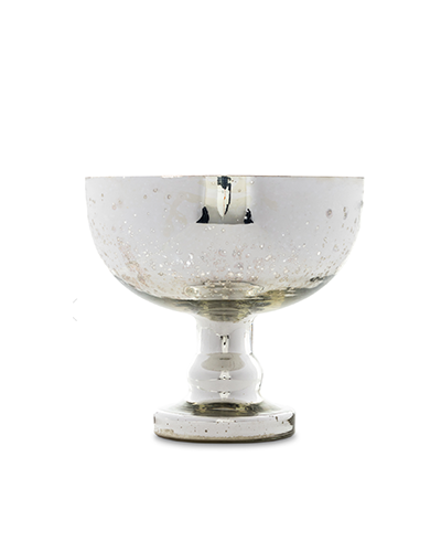 FÊTE HOME  Silvered Bowl