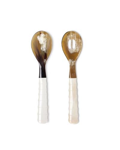 FÊTE HOME  Pearlized Salad Servers